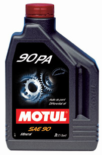 Transmission & Differential Oil