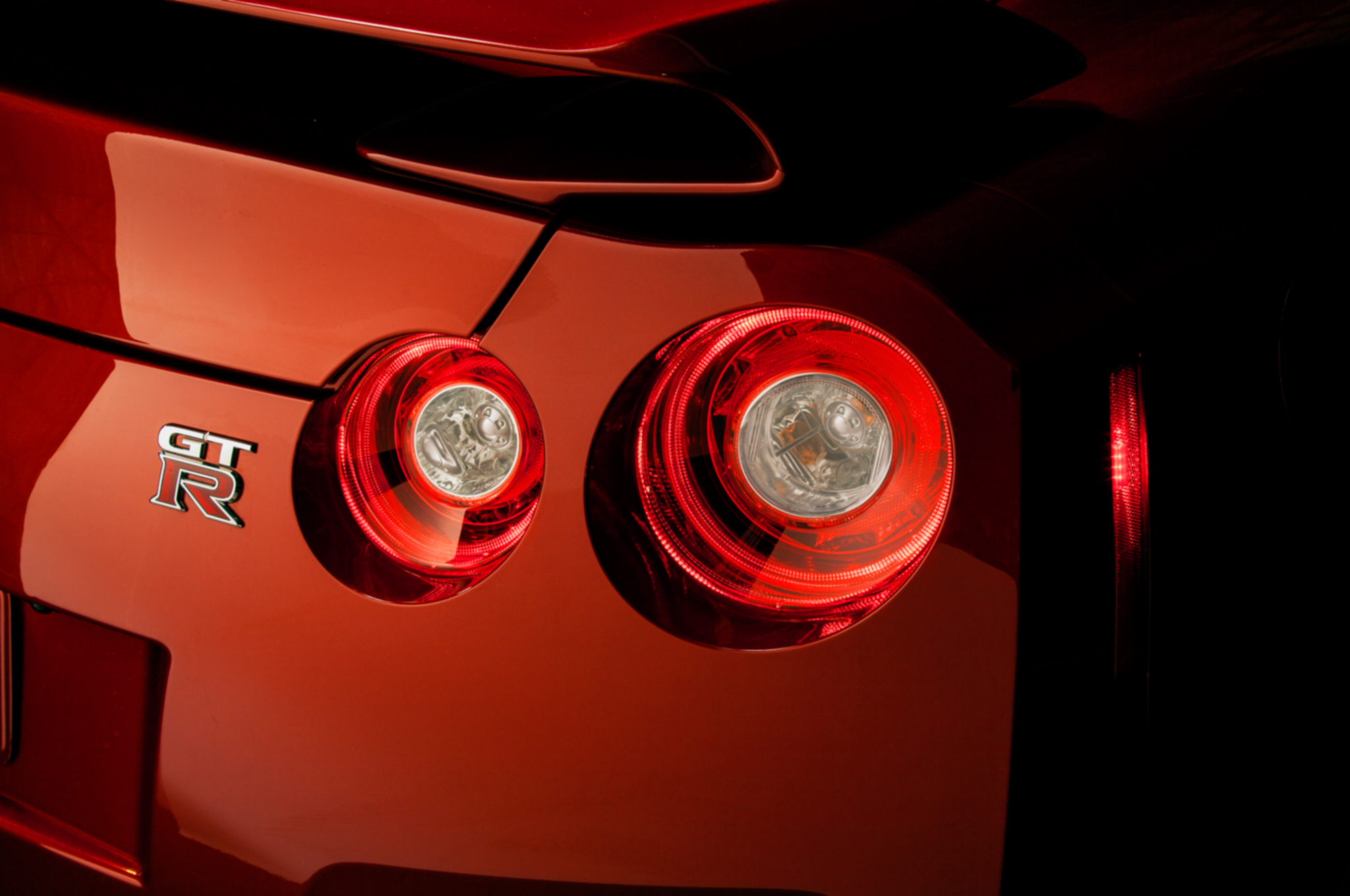 OEM Nissan 2015 GT-R LED Taillights 2009-16