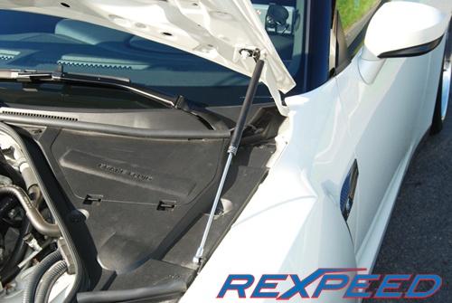 Rexpeed Carbon Hood Dampers Nissan GT-R 2008-16