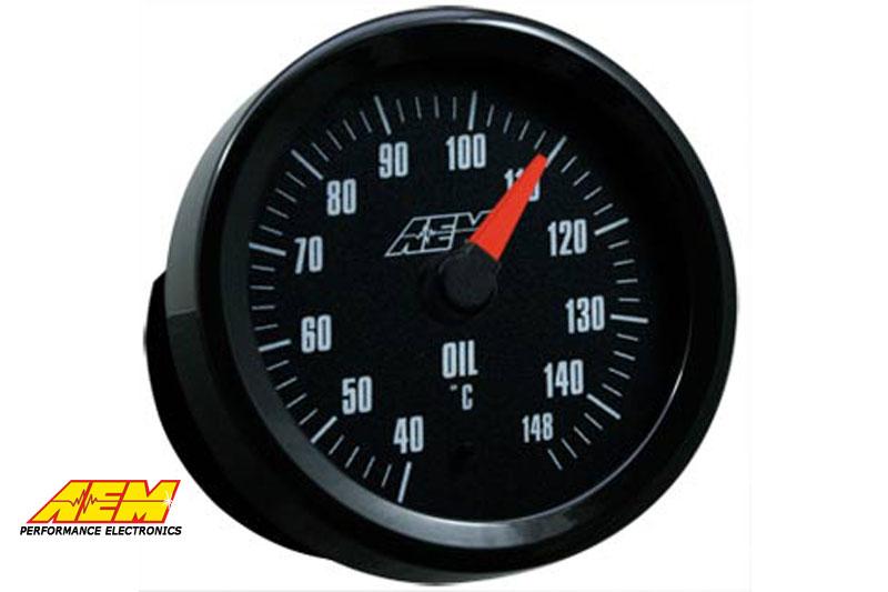 AEM Oil/Transmission/Coolant Temperature Gauge 52mm