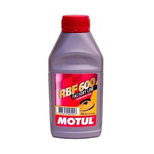 Motul RBF 600 Racing DOT Brake Fluid Dot 4 - 1/2 Liters