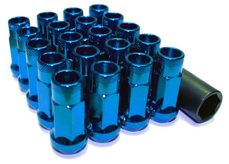 Muteki SR48 Open Ended Lug Nuts - Blue -