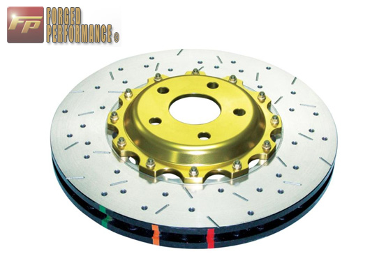 DBA 5000 Series Drilled/Slotted Rotors Front Subaru BRZ / Scion FR-S