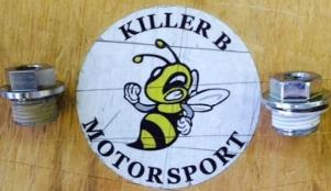 Killer B Motorsport M18x1.5 to 1/8NPT Adapter
