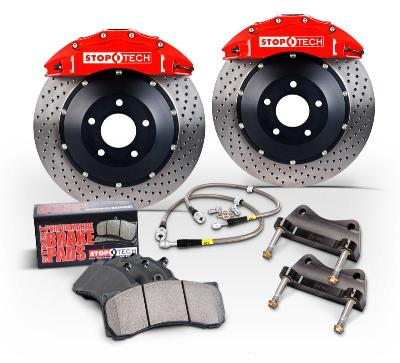 StopTech Rear 14in. 4 Piston Big Brake Kit Nissan 370Z 2009-15