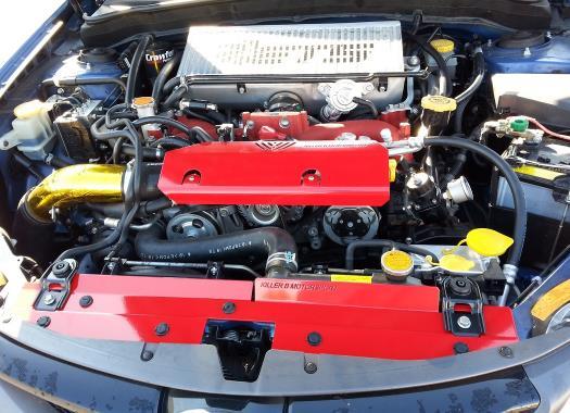 Killer B Motorsports Radiator Shroud Alternator Cover Combo Subaru WRX 2002-14 & STi 2004-15