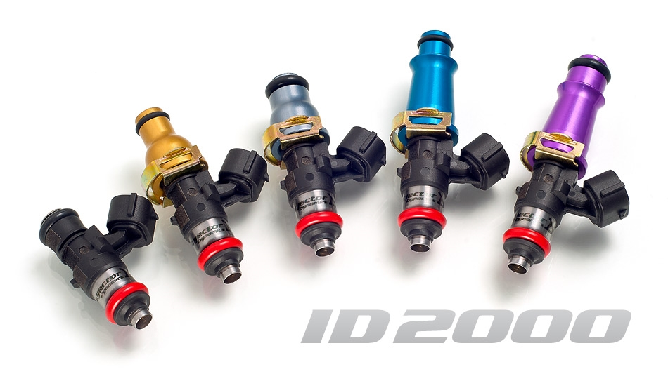 Injector Dynamics 2000cc Injectors - For T1 Rails - Nissan GT-R 2009-17