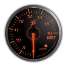 STRi DSD Amber 52mm Voltage Gauge