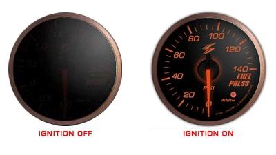 STRi DSD 52mm Fuel Pressure Gauge