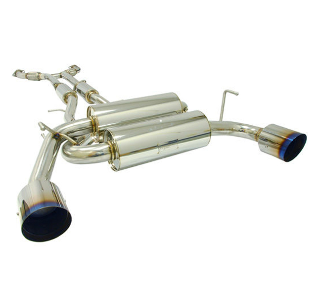 MXP Stainless Steel Exhaust System -True Dual- Nissan 370Z 2009-14