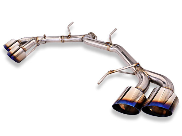 MXP Cat-Back Exhaust System -Straight- Nissan GT-R 2009-17