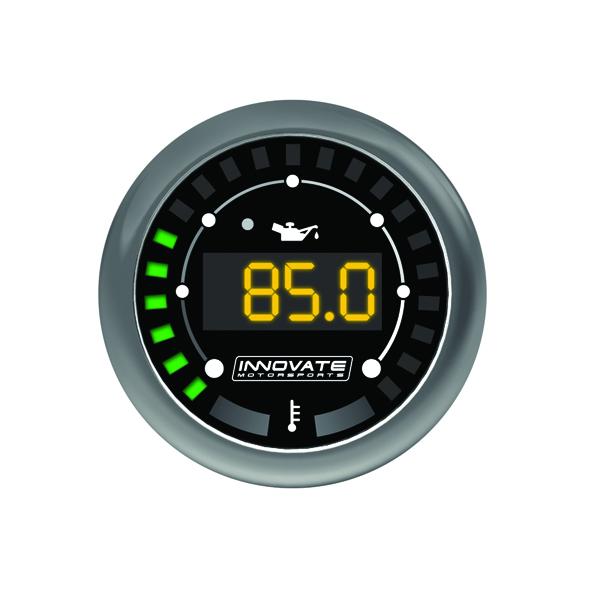 Innovate Motorsports MTX-D Dual Function Oil Temperature / Pressure Gauge 52mm
