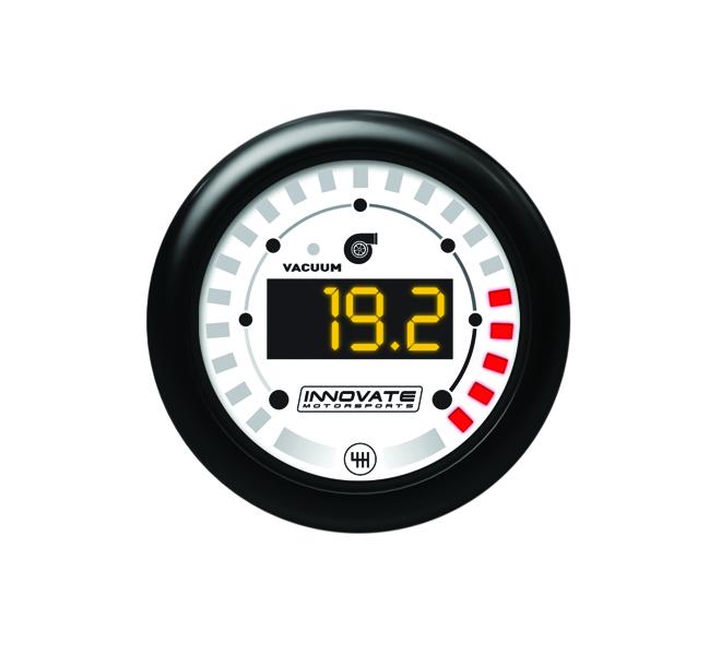 Innovate Motorsports MTX-D Dual Function Boost / Shift Light Gauge 52mm