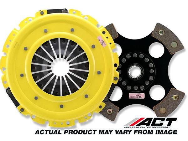 ACT HD/Race Rigid 4 Pad Subaru BRZ / Scion FR-S 2013-14