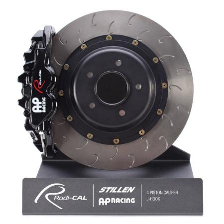 AP Racing Radi-CAL Rear 4-Piston Big Brake Kit Nissan 370Z 2009-15