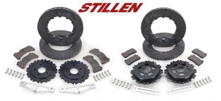 Stillen Carbon Ceramic Matrix Brake Upgrade Nissan GT-R 2009-11