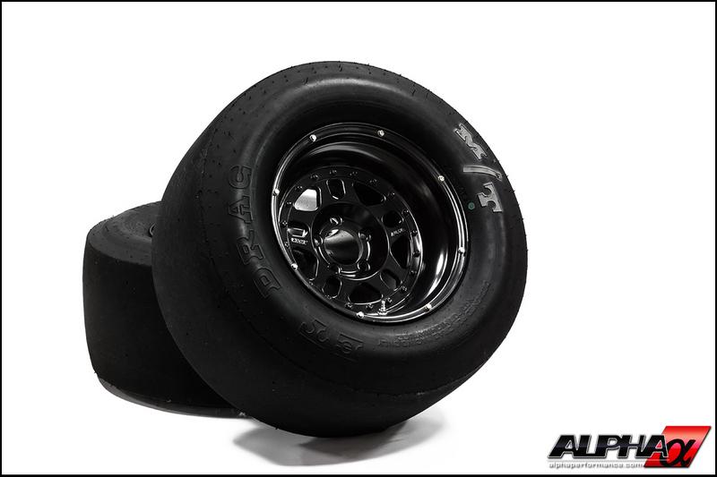 AMS Alpha Drag Wheel & Tire Package R35 GT-R 2008-17
