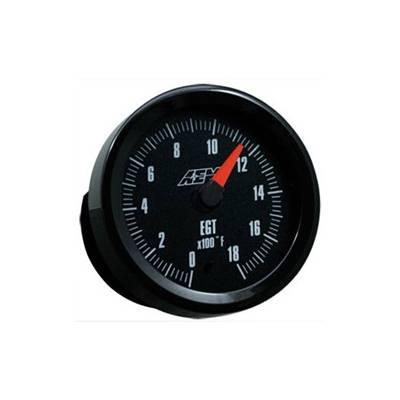 AEM Exhaust Gas Temperature Gauge 0-1800F 52mm