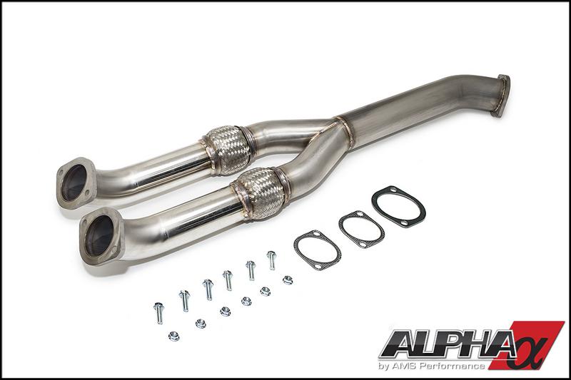 AMS 90mm Midpipe / Y-pipe R35 GT-R 2009-17