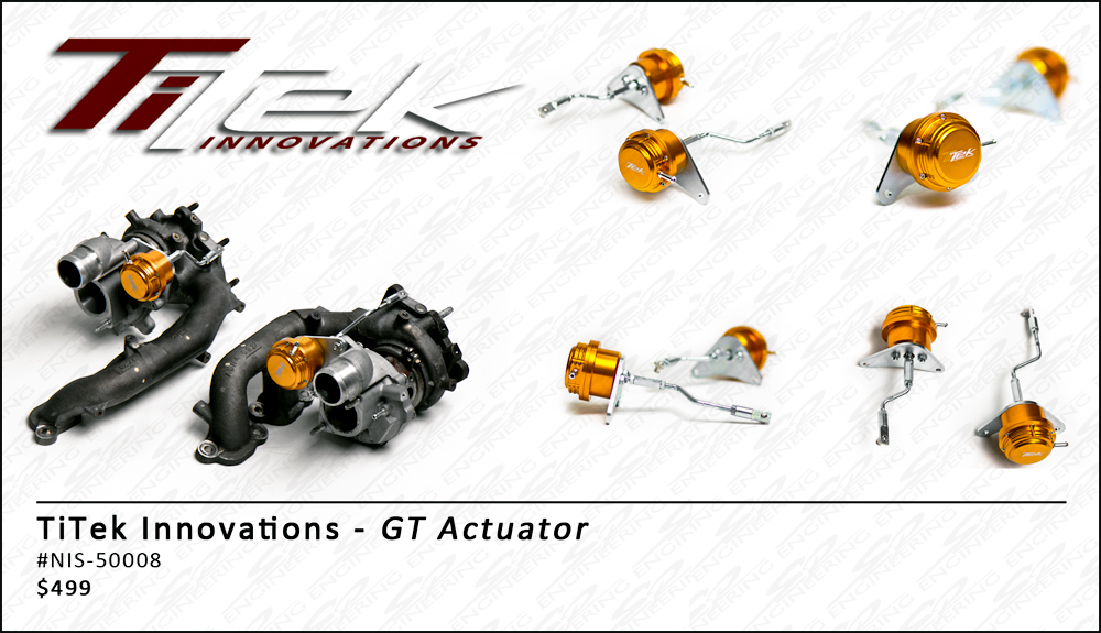 TiTek GT Actuators - Pair - Nissan GT-R