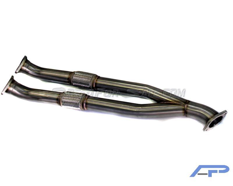 Agency Power Mid Pipe Nissan GT-R 2009-17