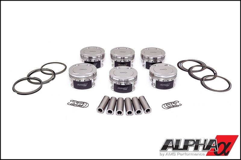 AMS Alpha Extreme-Duty Pistons R35 GT-R 2008-17
