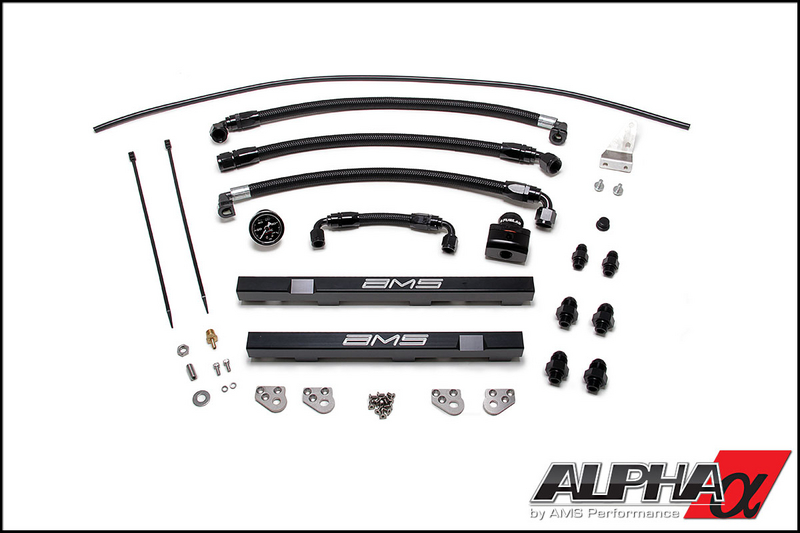 AMS Alpha Fuel Rail Upgrade Package R35 GT-R 2008-17