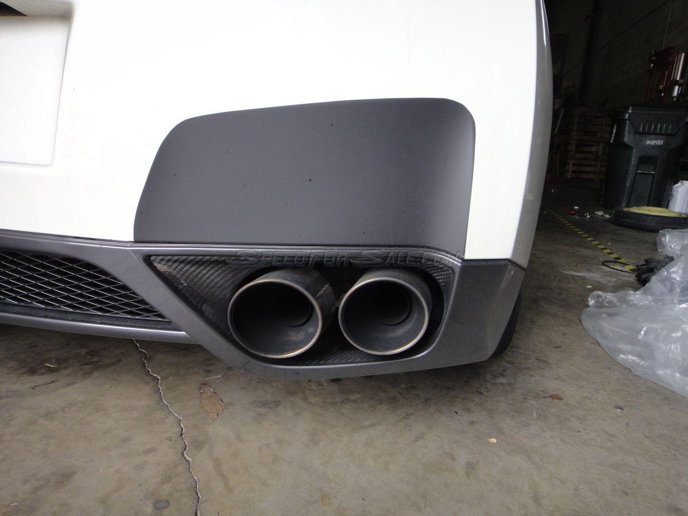 SpeedForSale's Rear Bumper Exhaust Guards Nissan GT-R 2008-16