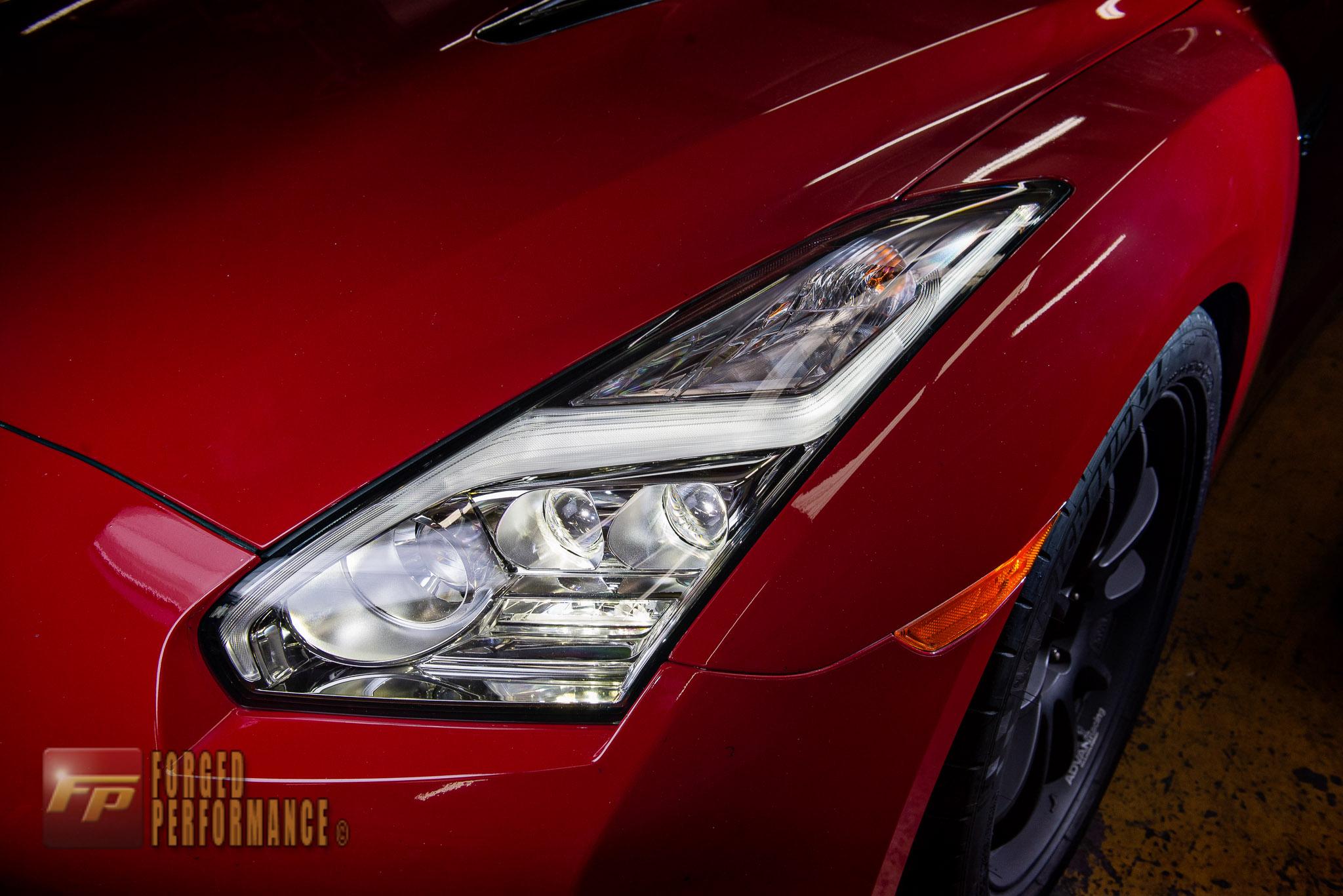 OEM Nissan 2015 GT-R LED Headlights 2009-16