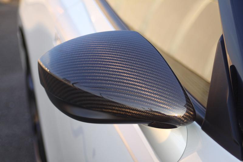 Mines Carbon Fiber Mirror Shroud Nissan GT-R 2009-11