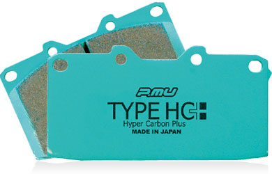 Project Mu Brake Pads HC+ -Rear- Nissan GT-R 2009-17