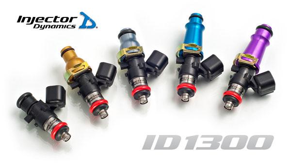 Injector Dynamics 1300X Injectors -For T1 Rails- Nissan GT-R 2009-17