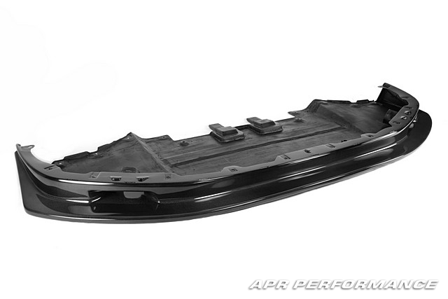 APR Front Air Dam Diffuser Lip w/ Carbon Fiber Brake Cooling Ducts Nissan GT-R 2012-16