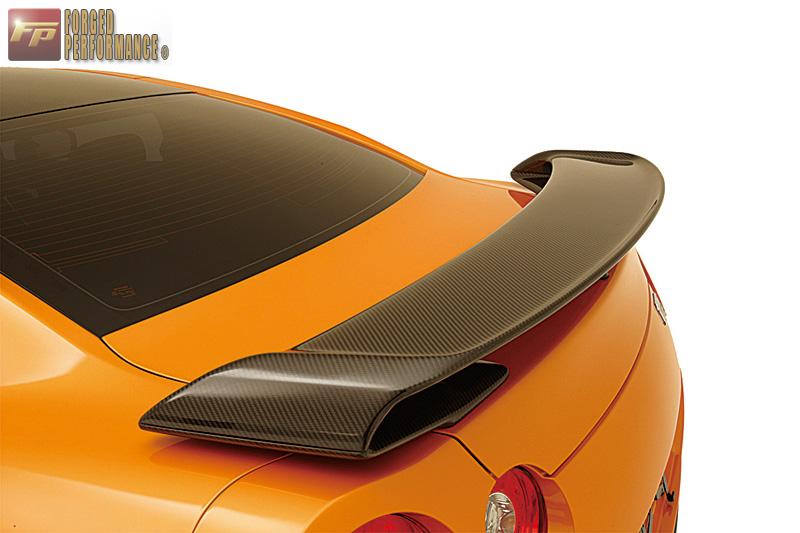 Zele Dry Carbon Fiber Rear Wing Nissan GT-R 2009-17