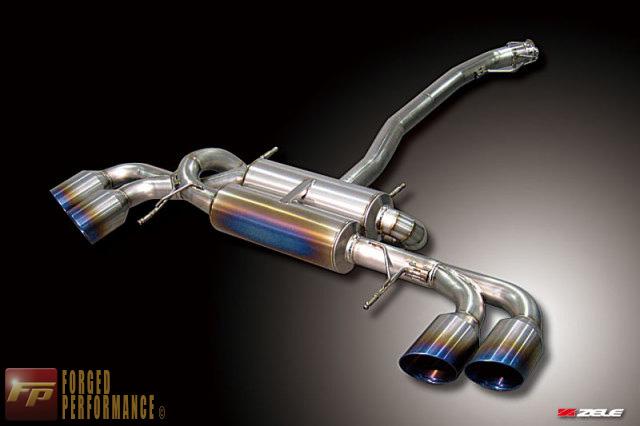 Zele FZ Titanium Muffler Type 1 Exhaust System Nissan GT-R 2009-17