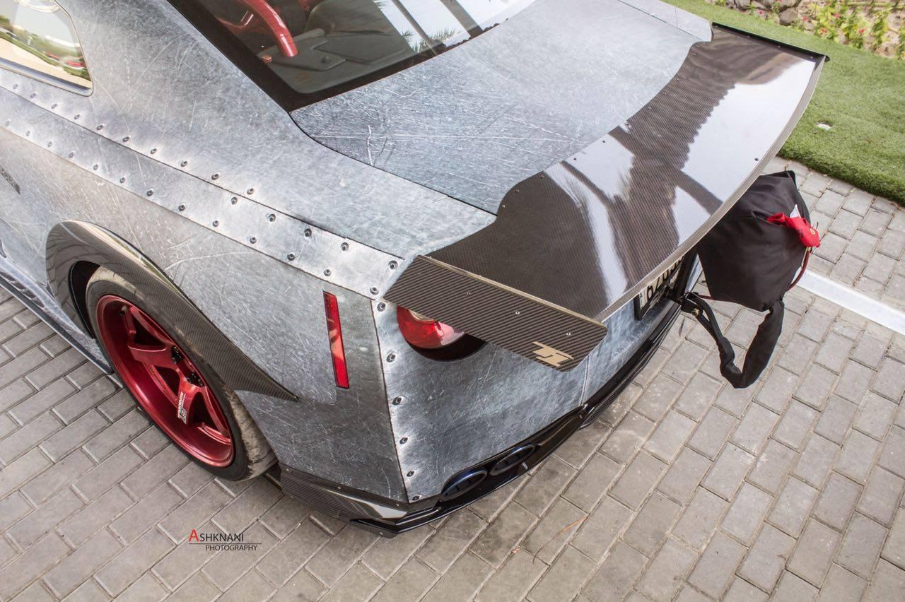 GT1R Drag Spoiler/Trunk