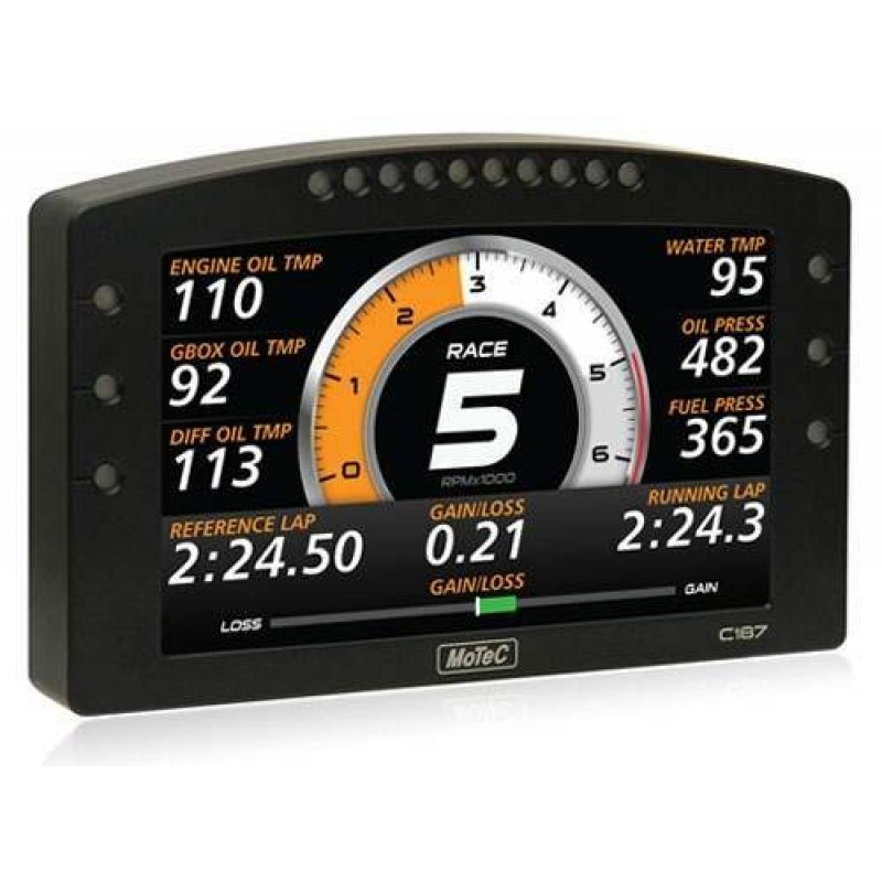 "MoTec C187 7"" Color Display Logger W/ USB"