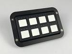 Racegrade Flush Mount Bezel for 8 Button Keypad
