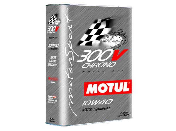 Motul 300V 10w40 Chrono Engine Oil 2 L