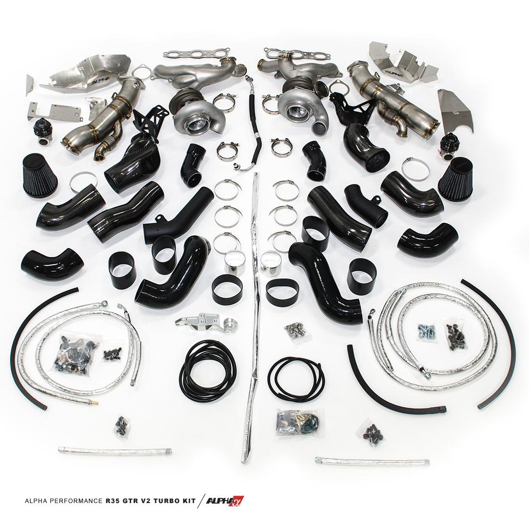 AMS Alpha 12X Version II Turbo Kit R35 GT-R  2009-18