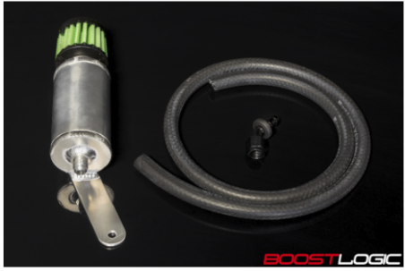 Boost Logic Transmission Overflow Can - Nissan GT-R 2009-2018