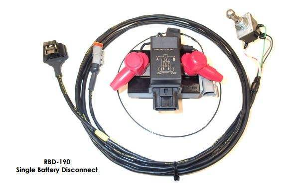 RaceGrade Remote Battery Disconnect