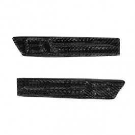 Seibon Carbon fiber fender duct logo for 2009-2010 Nissan GTR