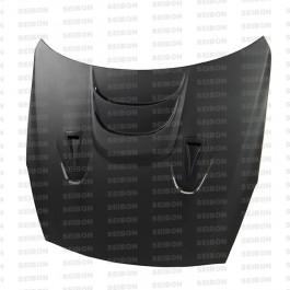 Seibon MS-style DRY CARBON hood for 2009-2016 Nissan GTR..
