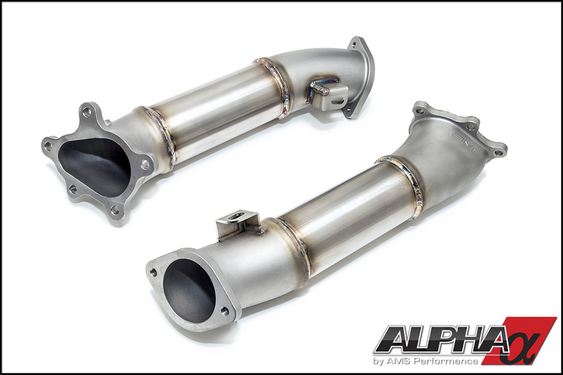 AMS Alpha Downpipes R35 GT-R 2009-17