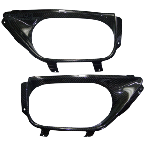 Dodson Carbon Exhaust Surround w/ Logo Nissan GT-R 2009-16
