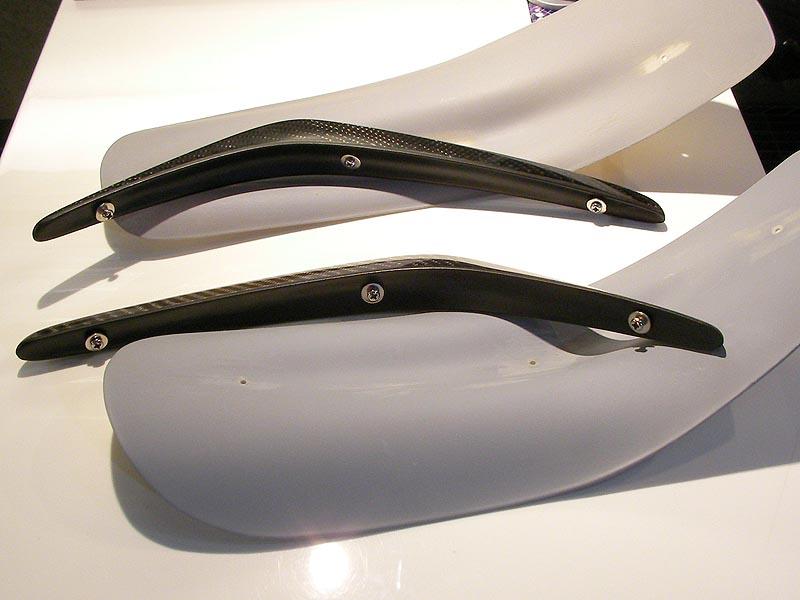 Auto Select Carbon Fiber Front Canards Nissan GT-R 2009-16