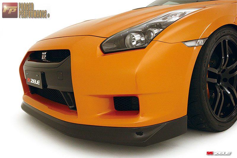 Zele FRP Front Aero Bumper Nissan GT-R 2009-16