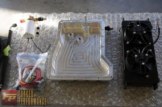 SSP Front Mount Transmission Cooler Kit Nissan GT-R 2009-17