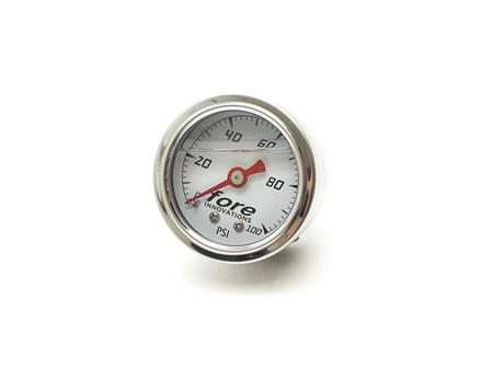 Fore Innovations Mechanical Fuel Pressure Gauge 1-100psi Nissan GT-R 2009-17
